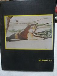 Del Puerto, 1975 Patterson High School Yearbook, Patterson, Ca. Free Shipping