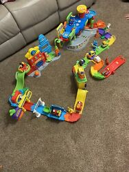 Vtech Go Smart Wheels Tow And Go Garage Disney's Fire And Train Station Parts