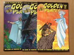 The Golden Plates 1 2 3 Vf Complete 1-3 Aaa Pop 2004 Mike Allred Book Of Mormon