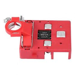 Battery Terminal Clamps 32v/400a Car Caravan Quick Release Fused Battery