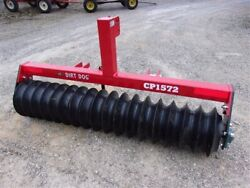 New 6 Ft. Dirt Dog Cp1572 Hd Cultipacker Free 1000 Mile Delivery From Kentucky