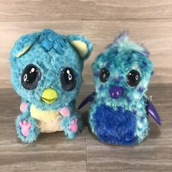 Hatchimals Hatchibabies Cheetree Blue And Puffatoo Preowned Tested