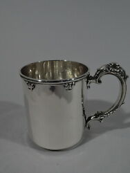 Stowell Mug - 48 - Antique Christening Baby Cup - American Sterling Silver
