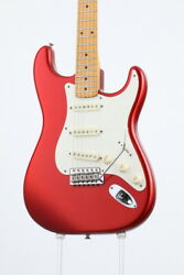 Fender Eric Johnson Stratocaster Maple Candy Apple Red Guitar From Japan Cap40