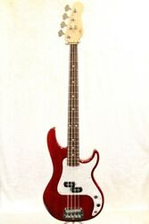 Gandl 40th Anniversary Sb-1 Caribbean Crear Ruby Red Bass From Japan Zcl167