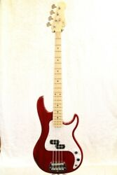 Gandl 40th Anniversary Sb-1 Maple Crear Ruby Red Bass From Japan Wnl380
