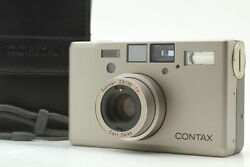 [almost Unused In Case] Contax T3 D 35mm Point And Shoot Film Camera From Japan
