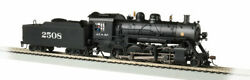 Bachmann-2-8-0 Consolidation - Sound And Dcc - Sound Value -- Santa Fe 2508 Bla