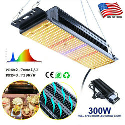300w Led Grow Light Lamp Full Spectrum For Indoor Plants Veg All Stage Growing