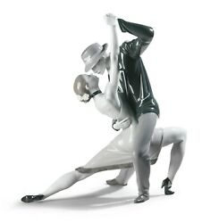 Lladro Passionate Tango - Noir 01009140 Made In Spain