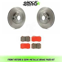 Front Rotors And Semi-metallic Brake Pads For 2002-2005 Mercedes-benz Ml500
