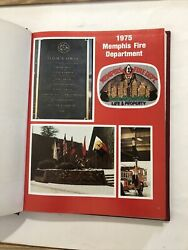 1975 Memphis Tennessee Fire Department Yearbook Photographs History Fireman