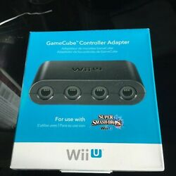 Official Nintendo Gamecube Controller Adapter For Switch Wiiu Edition Brand New