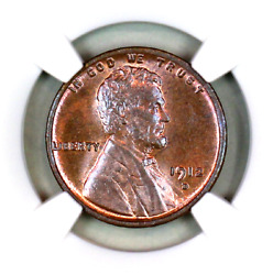 1912-d Ms64 Bn Ngc Lincoln Wheat Penny Superb Registry Quality Collection