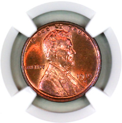 1919-d Ms64 Rb Ngc Lincoln Wheat Penny Superb Registry Quality Collection
