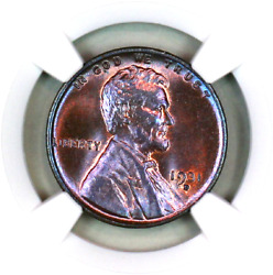 1931-d Ms65 Rb Ngc Lincoln Wheat Penny Superb Registry Quality Collection