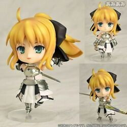 New Hot 10cm Anime Fate/stay Night Saber Lily Action Figure Toys Doll Cute Gift