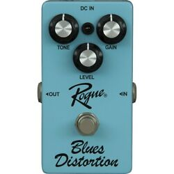 Rogue Blues Distortion Guitar Effects Pedal