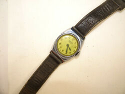 Ingersoll Topper Vintage Made In Usa Watches Run For Restoration Original Band