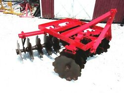 Used Ih 6 Ft.3 Pt. Lift Hd Disc Harrow Free 1000 Mile Shipping From Ky