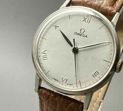 Omega Antique Watch 1944 Year Hand Rolled Vintage Watch Male Cal.30t2 Cal.japan