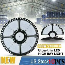 10x300w Ultra-thin Led High Bay Light Deformable Mining Lamp Warehouses Garages