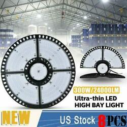 8x300w Ultra-thin Led High Bay Light Deformable Mining Lamp Warehouses Garages