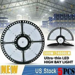 5x300w Ultra-thin Led High Bay Light Deformable Mining Lamp Warehouses Garages