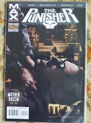Marvel Pb Graphic Novel The Punisher Max Vol.2 Mother Russia Garth Ennis 14