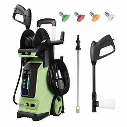 3800psi 2.8gpm Electric Pressure Washer 1800w High Power Cleaner Water Sprayer