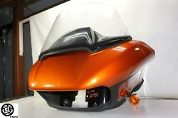 18-20 Harley Touring Road Glide Front Shark Inner Outer Fairing Windshield