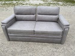 Lippert 68 Fold And Tumble Sofa Bed Couch Ft Pull-out Rv Boat Motorhome Alabaster