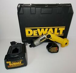Dewalt Dw920k-2 Cordless Electric Screwdriver, Battery, Charger And Case