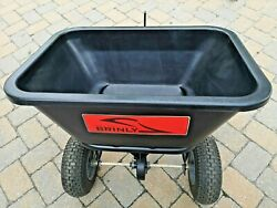 Brinly-hardy 125 Lb. 2.5 Cu. Ft. Tow Behind Broadcast Spreader Bs26bh