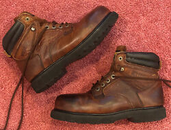 Mens Wolverine Steel Toe Boots Model-03142. Size 10. Used But In Great Condition