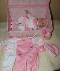 You And Me Baby Doll In Keepsake Trunk - Clothes And Accessories 14 Cloth Vinyl