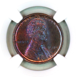 1916-s Ms64 Rb Ngc Lincoln Wheat Penny Superb Registry Quality Collection