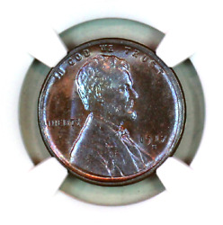 1917-s Ms64 Bn Ngc Lincoln Wheat Penny Superb Registry Quality Collection