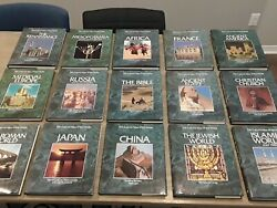 Rare The Cultural Atlas Of World Set Of 15 Books Excellent History Stonehenge