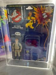 Vintage The Real Ghostbusters Ray Stantz 1st Series White Text 1986 Kenner Afa