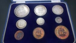 South Africa 1951 Short Proof Set Sam Box - Colour Toning Uncleaned Excellent