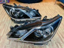 No Damage Series 210 Crown Majestica Genuine Led Headlights Left And Right Sets
