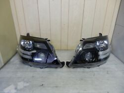 10 Final Alphard As/ms With Afs Genuine Headlights Blackout Processing Left And