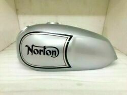 Fit For Norton Commando Roadster Silver Painted Aluminum Petrol Tank