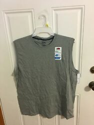 Brand New Menand039s Size Large Fruit Of The Loom 360 Breathe Sleeveless Muscle Shirt