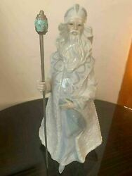 Retired Lladro Christmas 01008411 Father Frost New Box