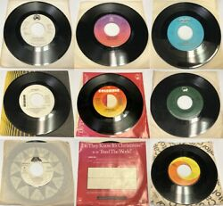Vintage 45 Rpm Old Vinyl Record Music Songs Jazz Pop Classical 1960s 1970s 1980s