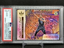 2017-18 Court Kings Giannis Antetokounmpo Points In The Paint Ssp Psa 10 Rare
