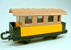 Matchbox Superfast No. 44 Passenger Coach Pre-production Model Yellow And Tan