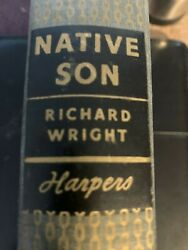 Native Son Richard Wright African American Fiction Black History 1st Ed
